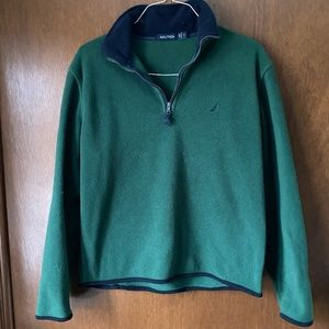 Nautica Fleece 1/4 Zip Fleece Pullover